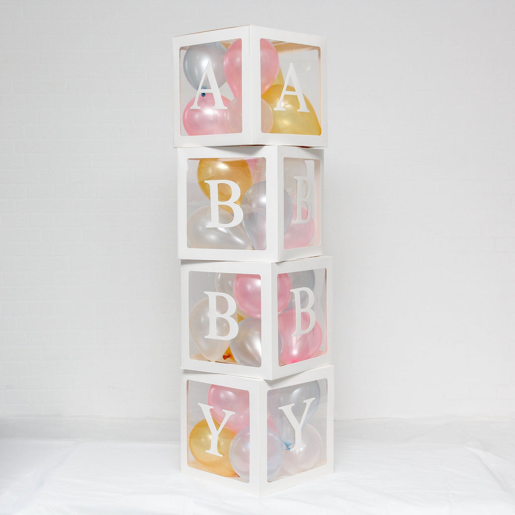 Baby Box A-Z Alphabet Set WHITE