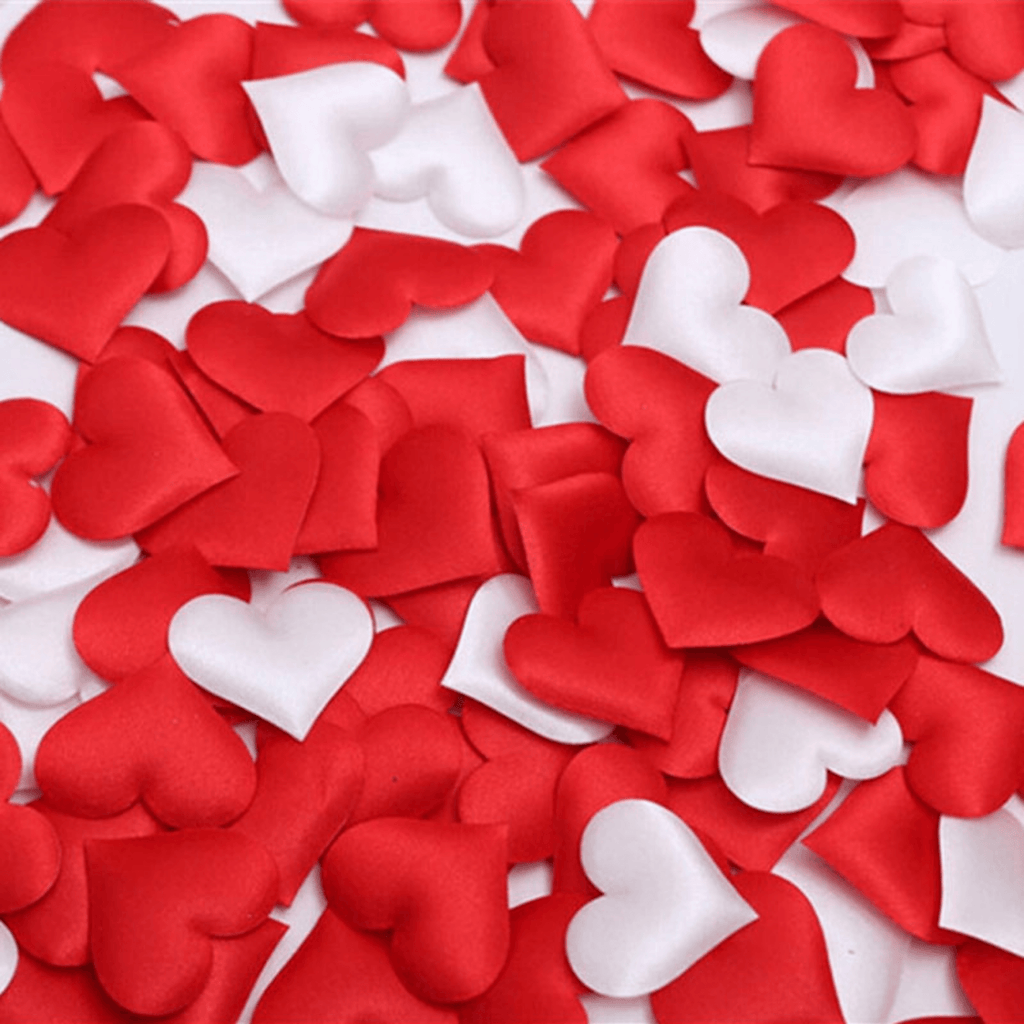 Puffed Red Heart Confetti Sprinkles NEW!