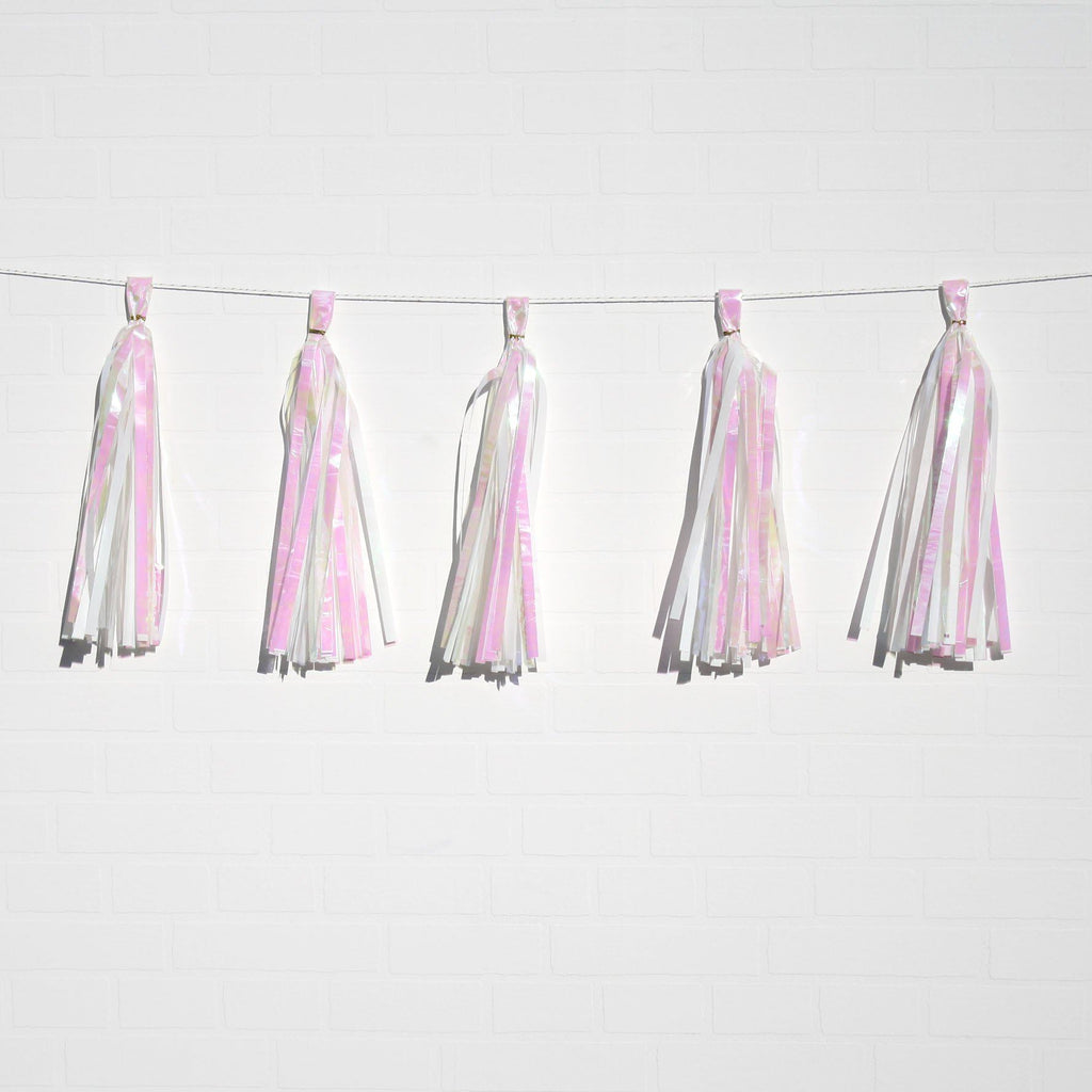 White tassel decorations NZ