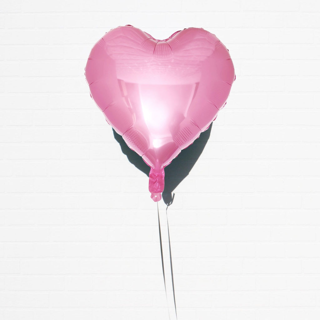 Heart Foil Balloon Pink Lively & Co