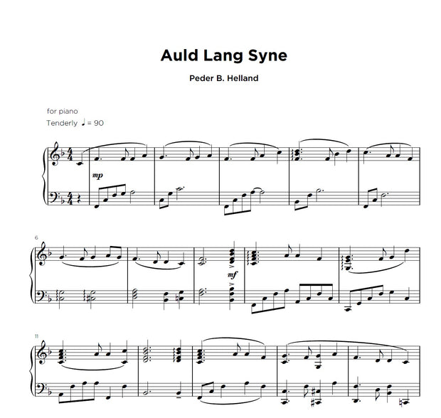 Christmas Sheet Music for Solo Piano [Digital]