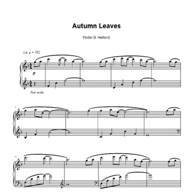 Autumn Leaves - Sheet Music