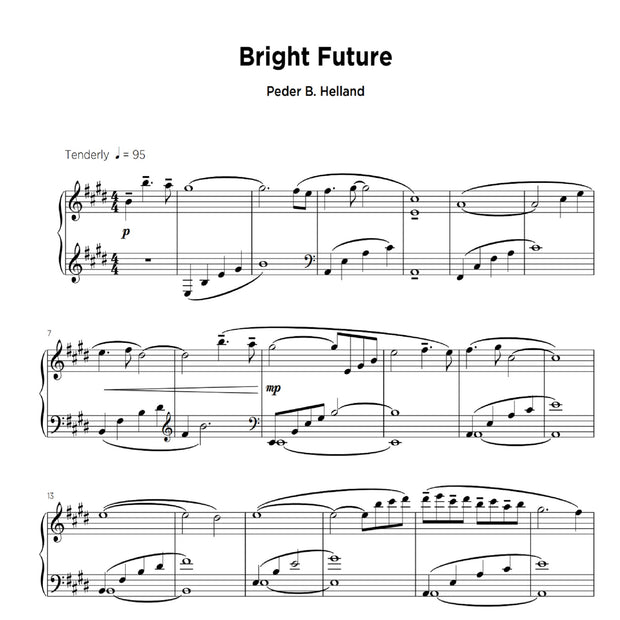 Bright Future - Sheet Music