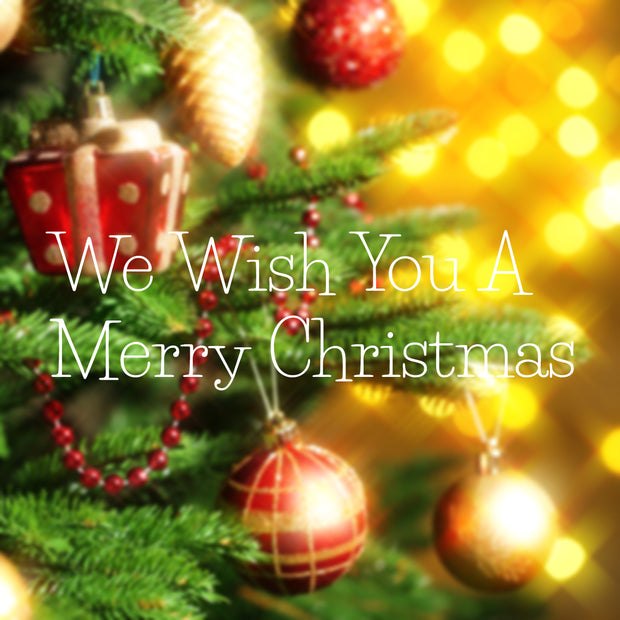 We Wish You A Merry Christmas - License