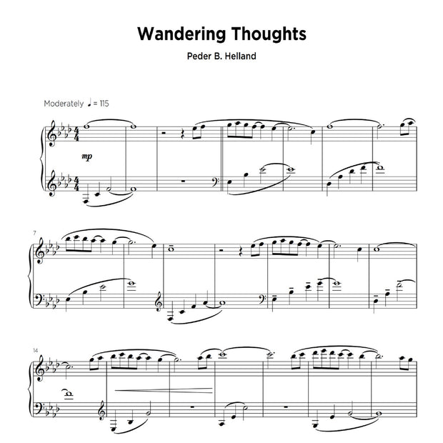 Wandering Thoughts - Sheet Music