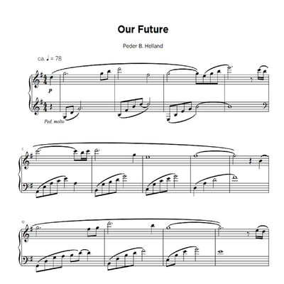Our Future - Sheet Music