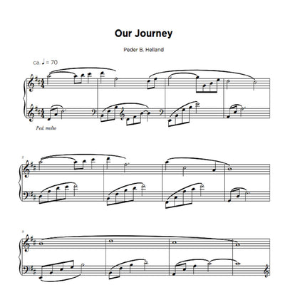 Our Journey - Sheet Music