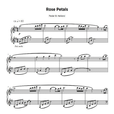 Rose Petals - Sheet Music