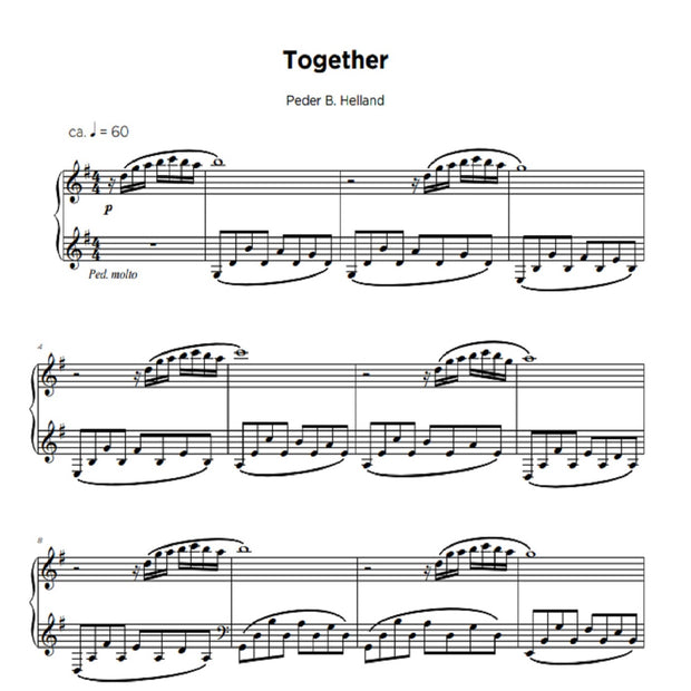 Together - Sheet Music