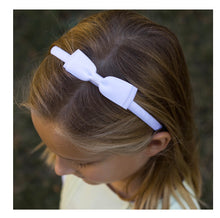 Bow Headbands - Solid Grosgrain - 11 Colors - Lolo Headbands