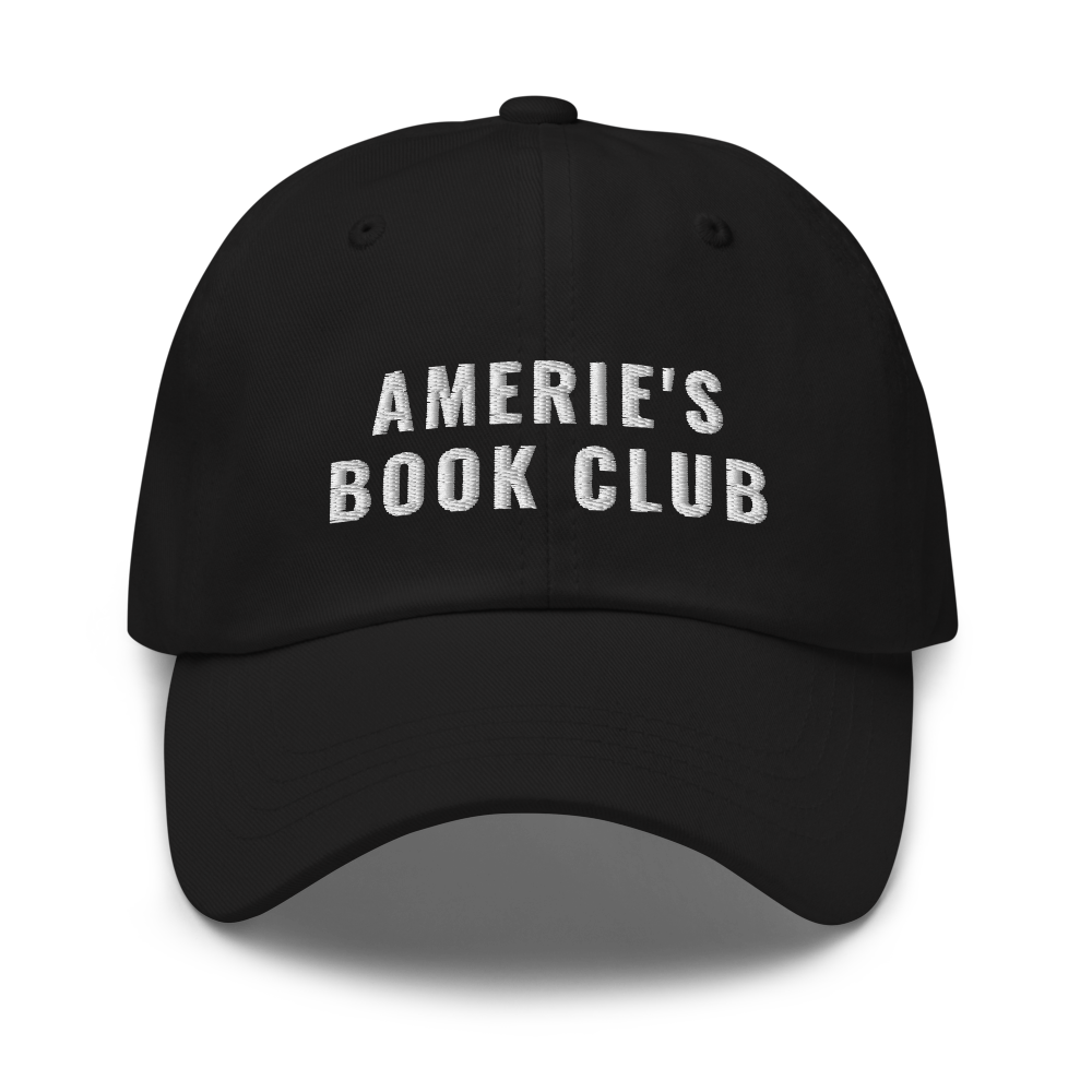 Amerie's Book Club Ballcap