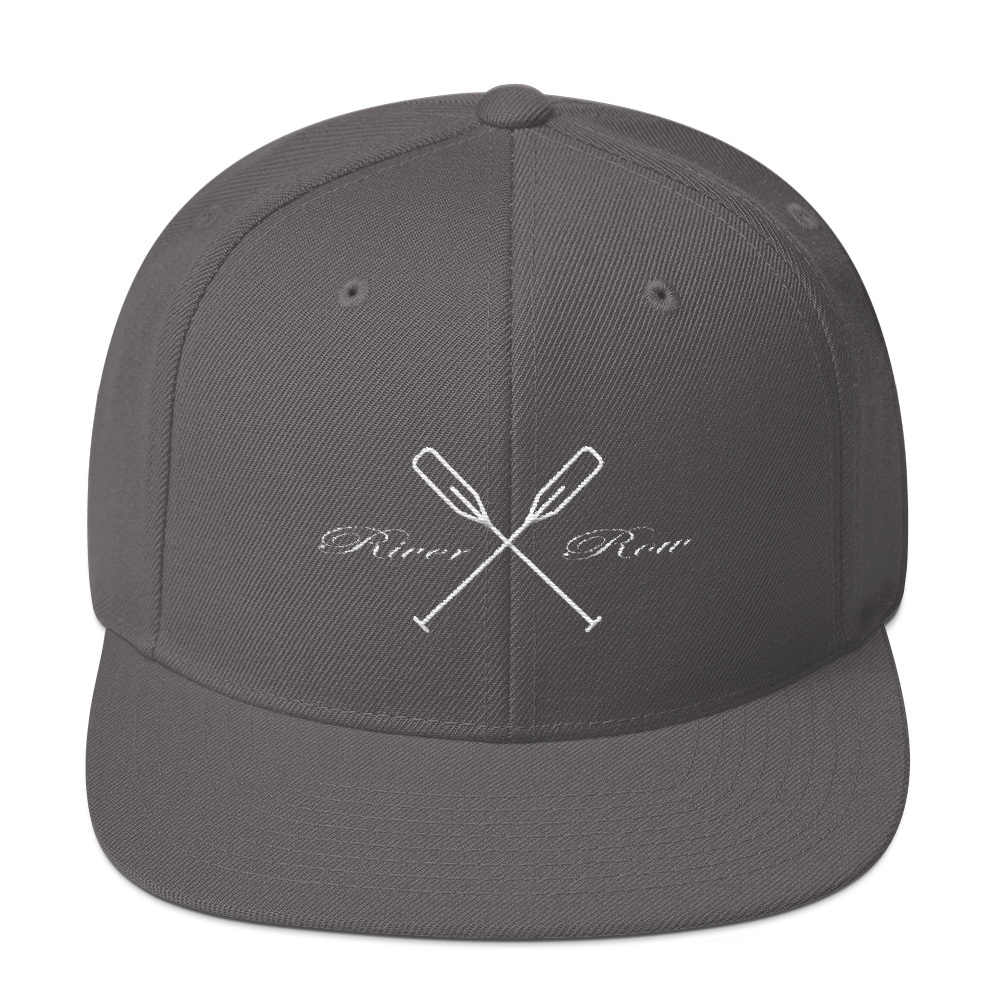 River Row Logo Classic collection Snapback Hat