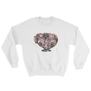 River Row Dark Floral Basket sweatshirt