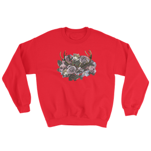 River Row Dark Floral Antlered Sweatshirt