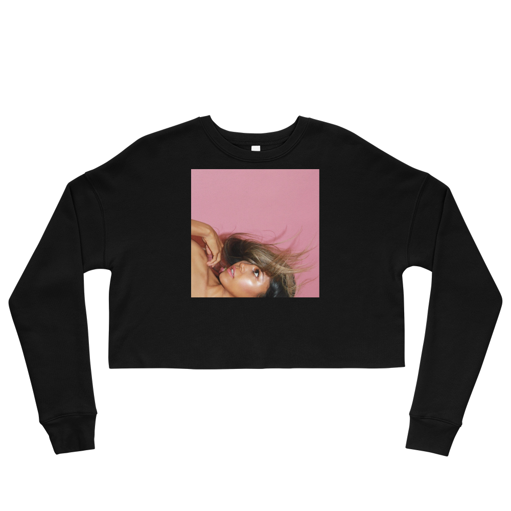 Kiss Me Crop Sweatshirt