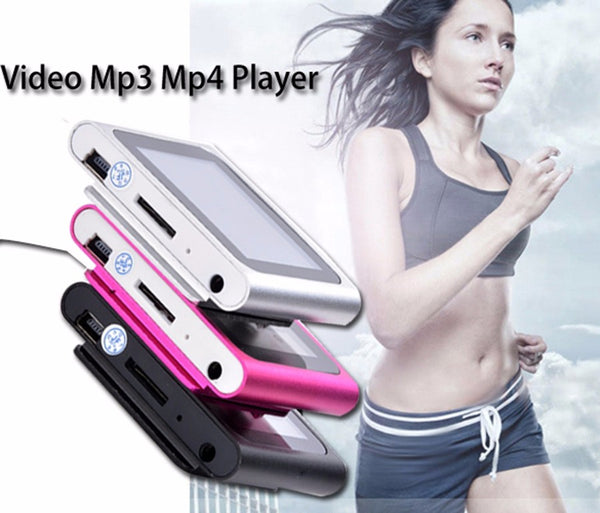 "Portable 2"" LCD Screen Mp3 / Mp4 Music/ Video MultiMedia Player/  FM, Games ,Movie, TF Card, Clip Sport"