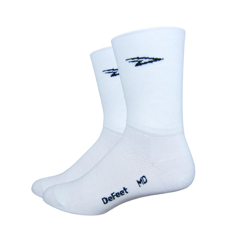 "Aireator 5"" D-Logo White (Double Layer Cuff)"
