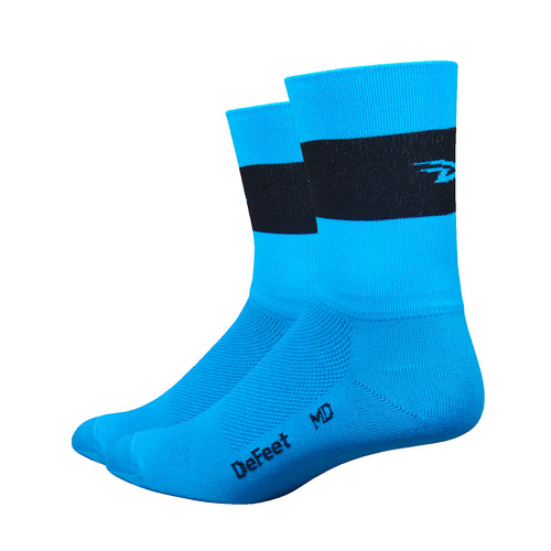 "Aireator 5"" Team DeFeet (Process Blue w/Black)"