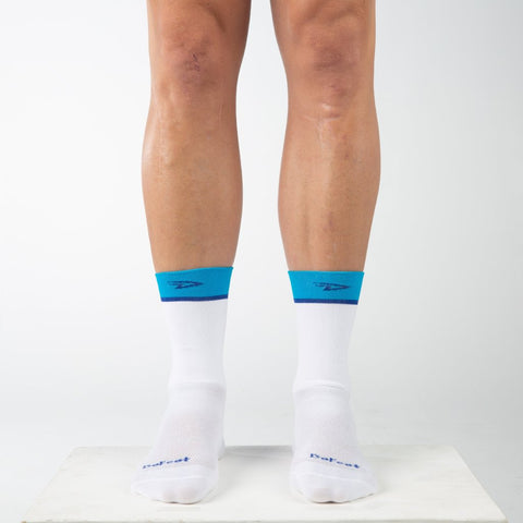 "Aireator 6"" Team DeFeet (White/Process Blue)"