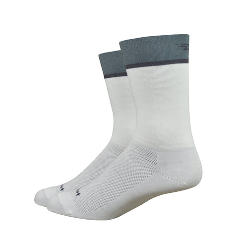 "Aireator 6"" Team DeFeet (White/Graphite)"