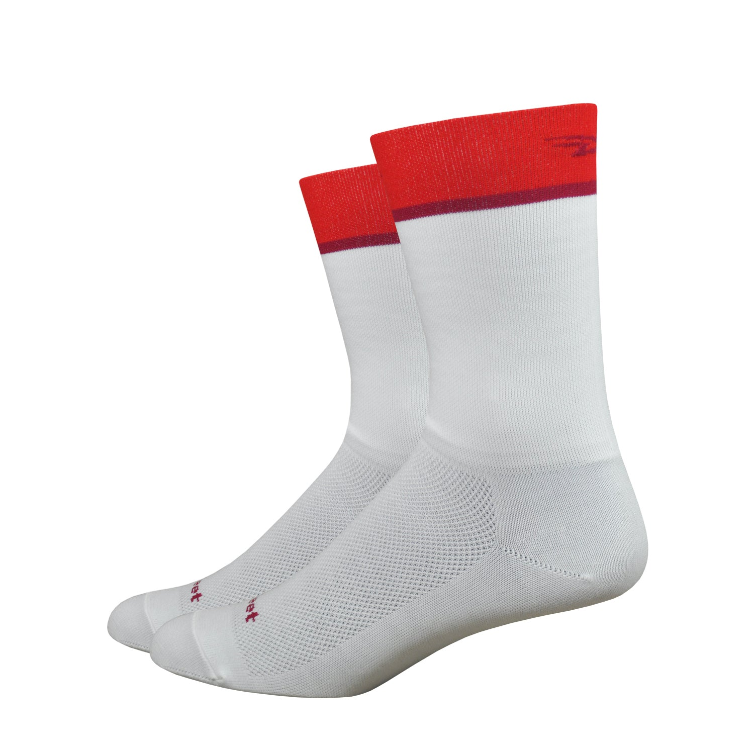 "Aireator 6"" Team DeFeet (White/Red)"
