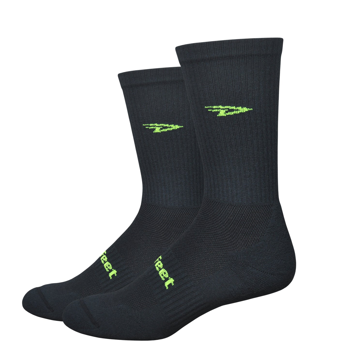 D-Evo Crew Black w/Neon Yellow