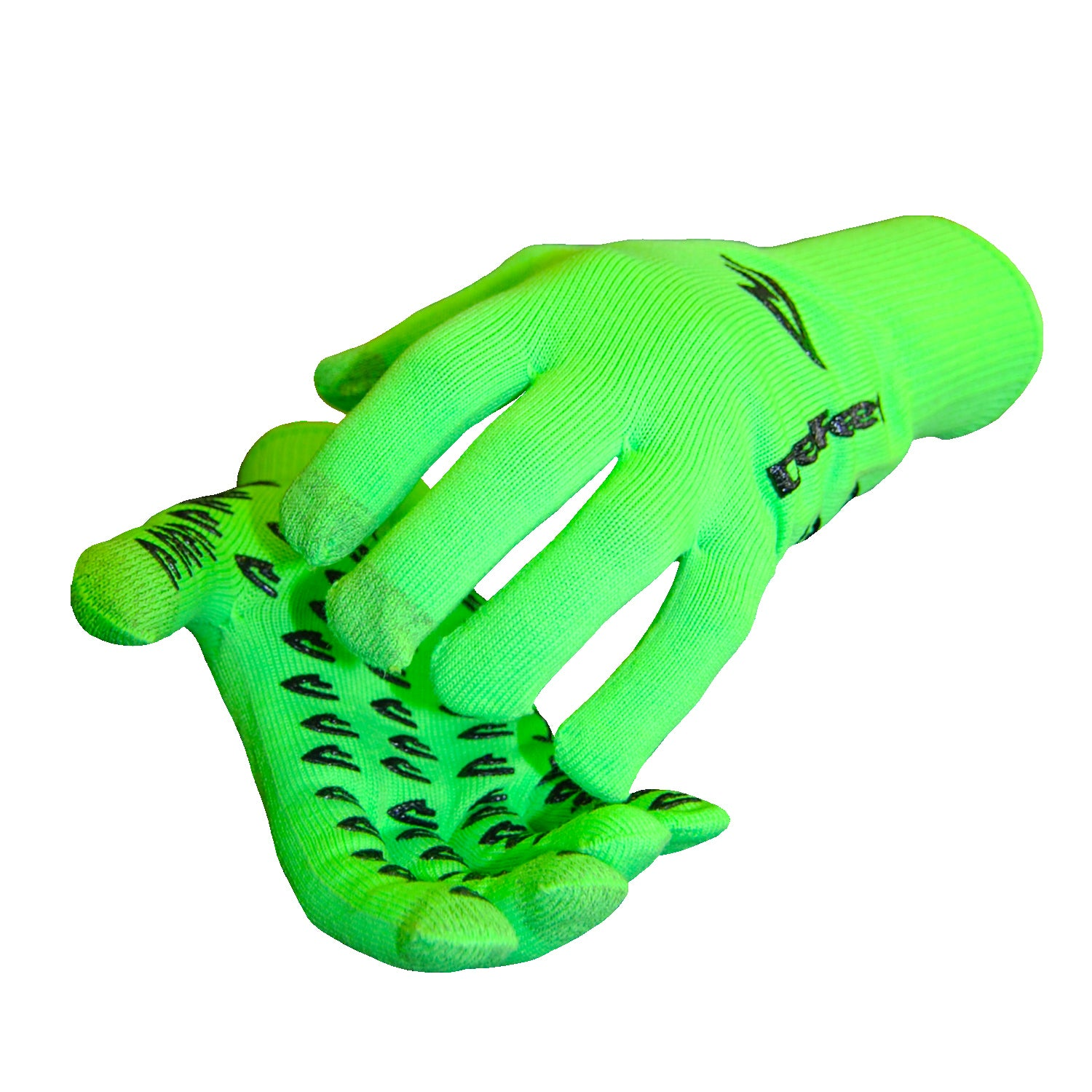 Duraglove ET Neon Green w/Black Grippies