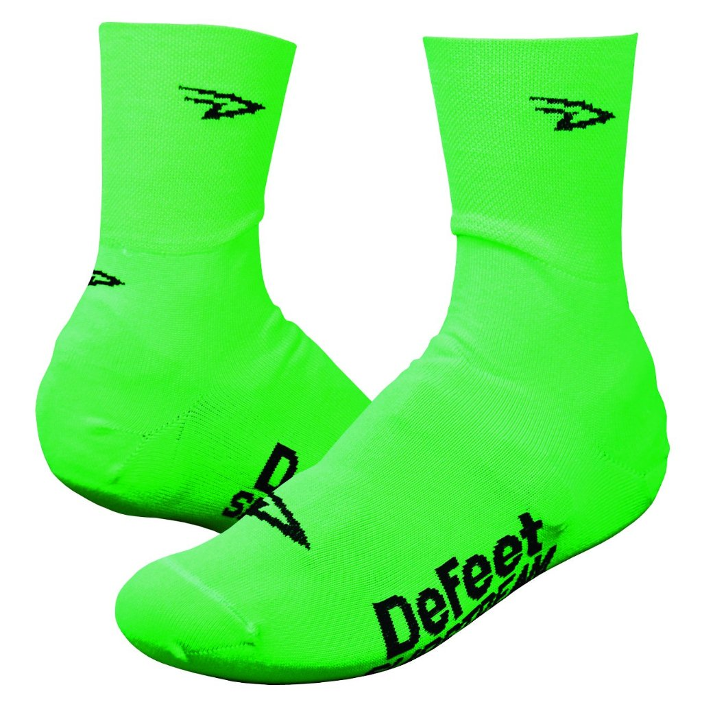 "Slipstream 4"" D-Logo - Hi-Vis Green"