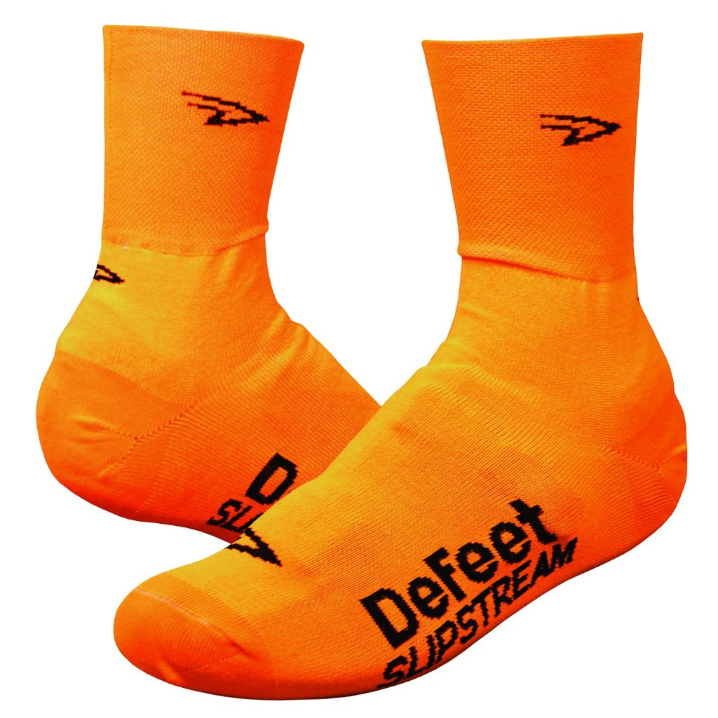"Slipstream 4"" D-Logo Neon Orange"