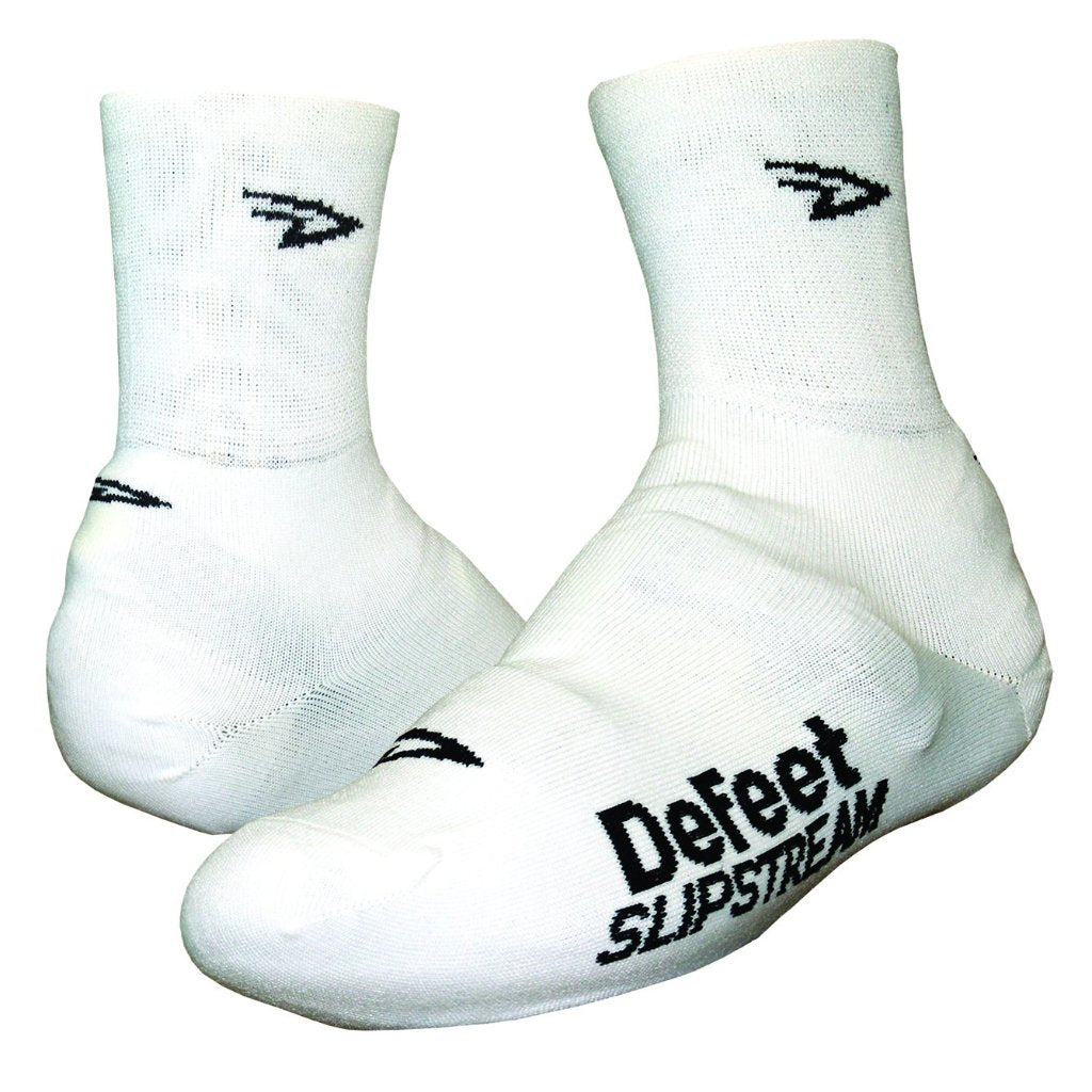"Slipstream 4"" D-Logo - White"