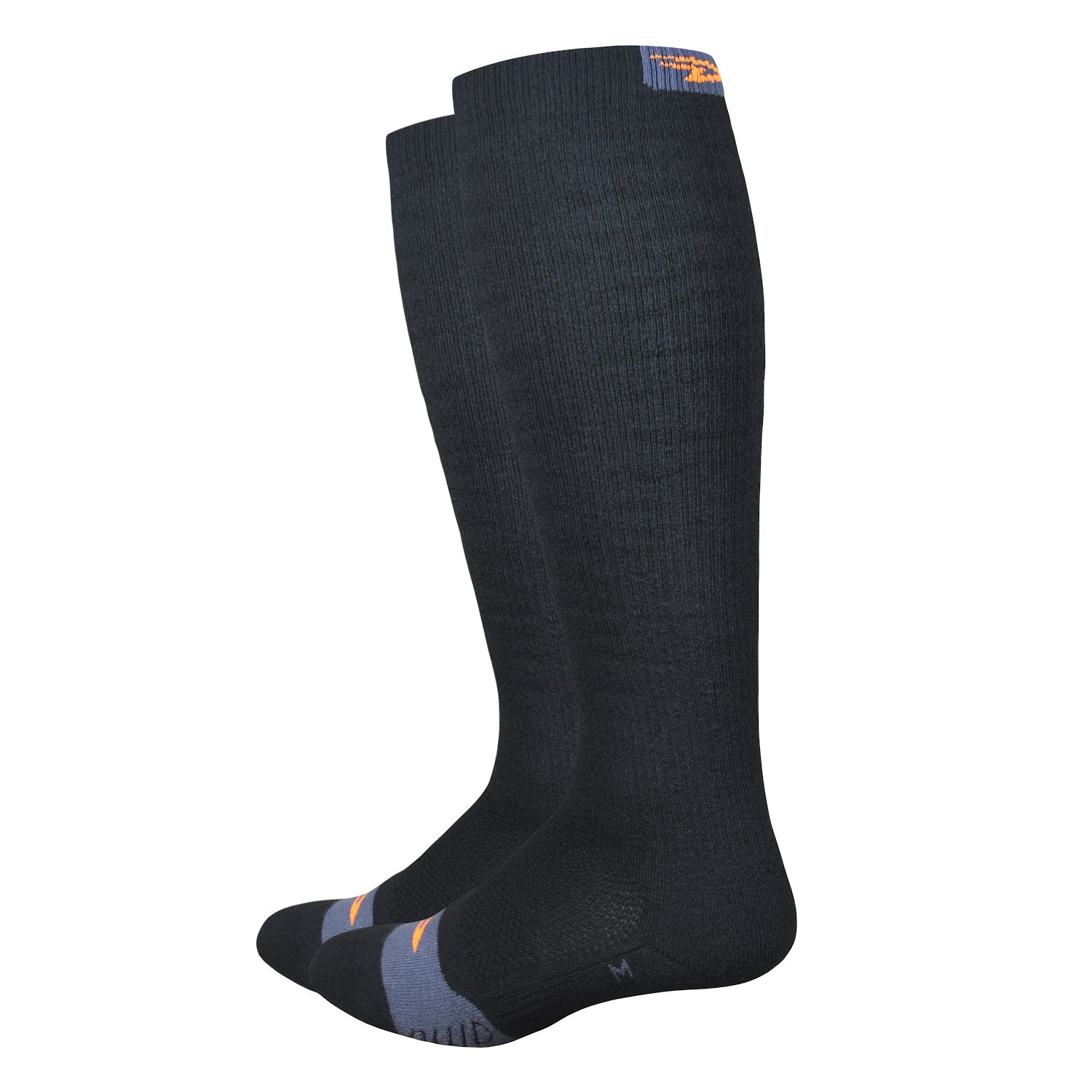 Thermeator Knee High (Black w/Orange)