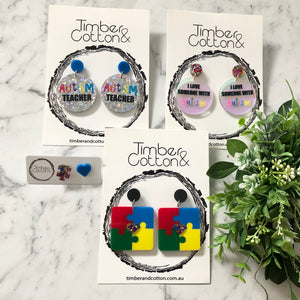 The Autism Collection Earrings