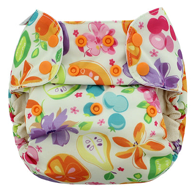 Blueberry One Size Simplex Organic Nappy