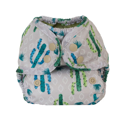 Button Newborn Nappy Covers