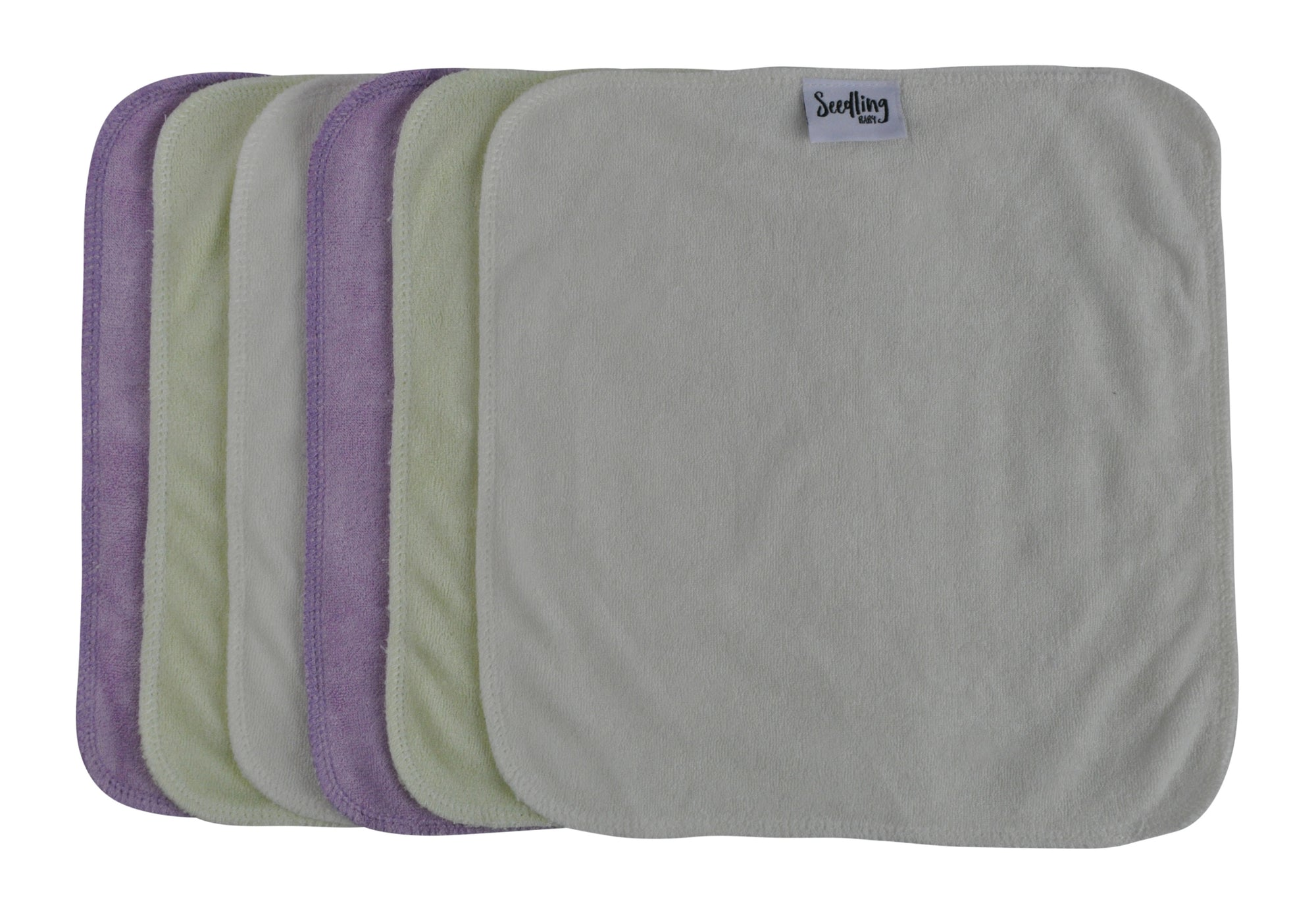 Cloth Wipes 6 pack by Seedling Baby