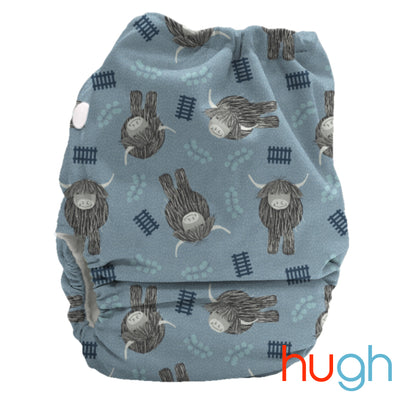 Candie - All-in-two - One size Nappy