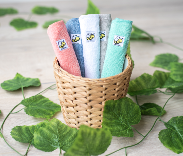 Baby BeeHinds Organic Cotton Cloth Wipes 5 pack