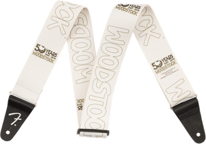 Fender Woodstock® Strap White