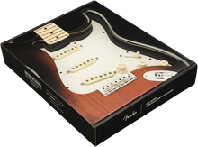 Load image into Gallery viewer, Fender Pre-Wired Strat Pickguard Hot Noiseless SSS