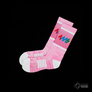 4MS Socks-Pink
