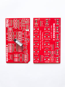 Frequency Central Waverider VCDO PCB&Panel