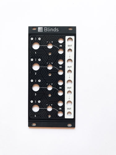 Magpie Modular Blinds Black Panel