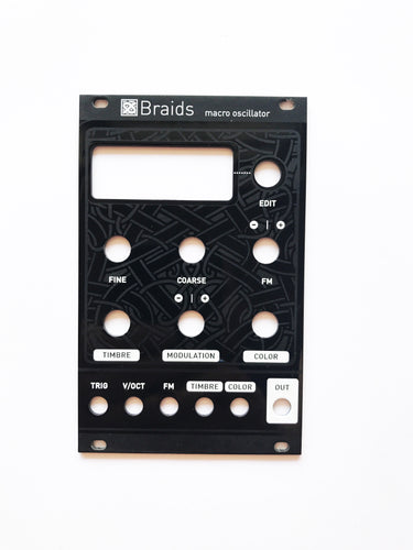 Magpie Modular Braids Black Panel