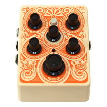 Load image into Gallery viewer, Orange Acoustic Preamp Pedal