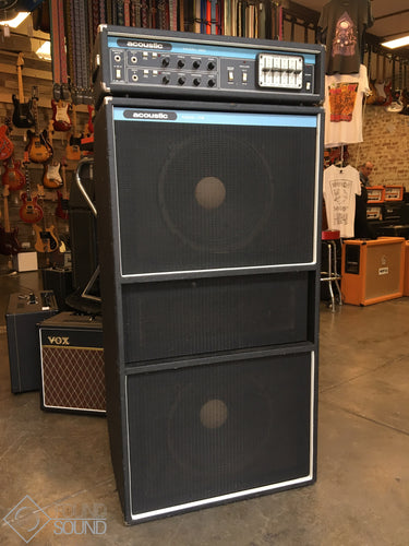 Acoustic Control Corp Model 320 Head & Model 408 Cabinet