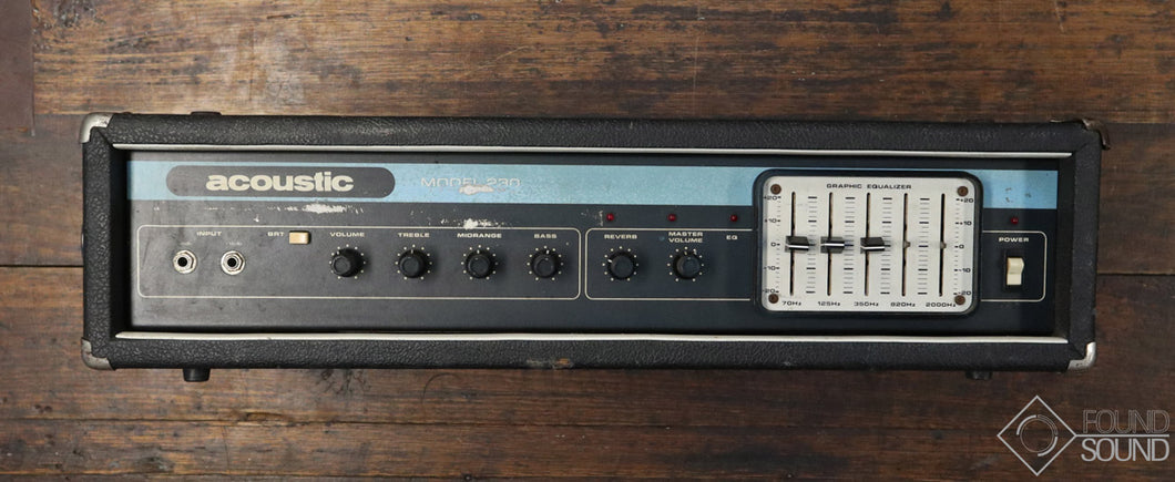 Acoustic Control Corp Model 230