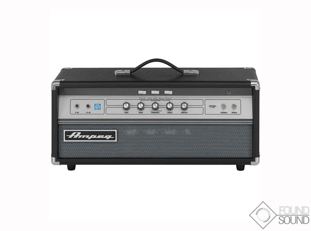 Ampeg V-4B 100W Tube Bass Amplifier Head