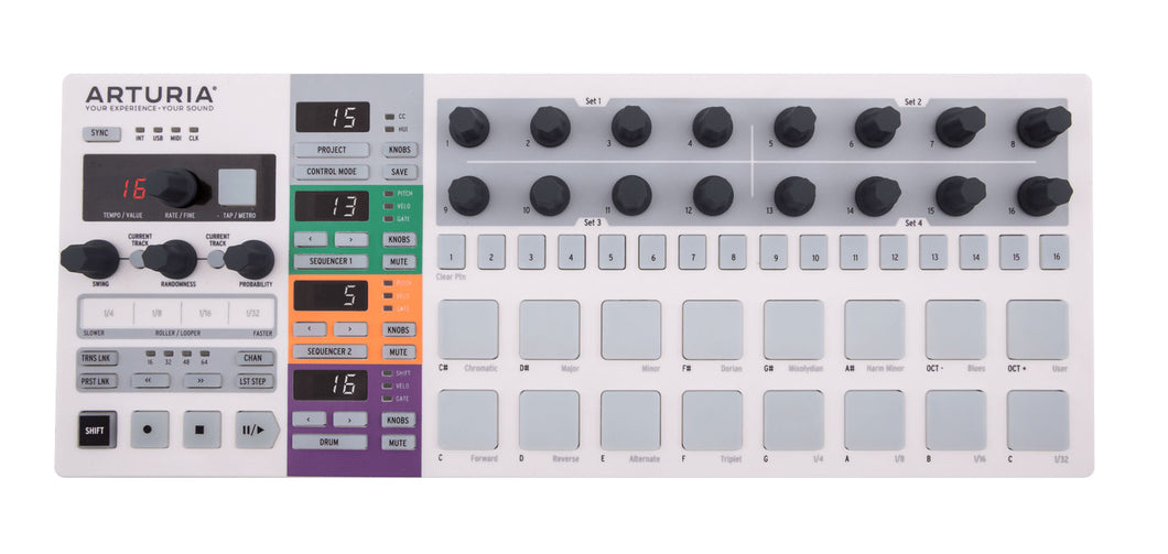 Arturia BeatStep Pro Controller & Sequencer with CV & Gate