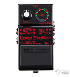 BOSS RC1-BK Black Loop Station
