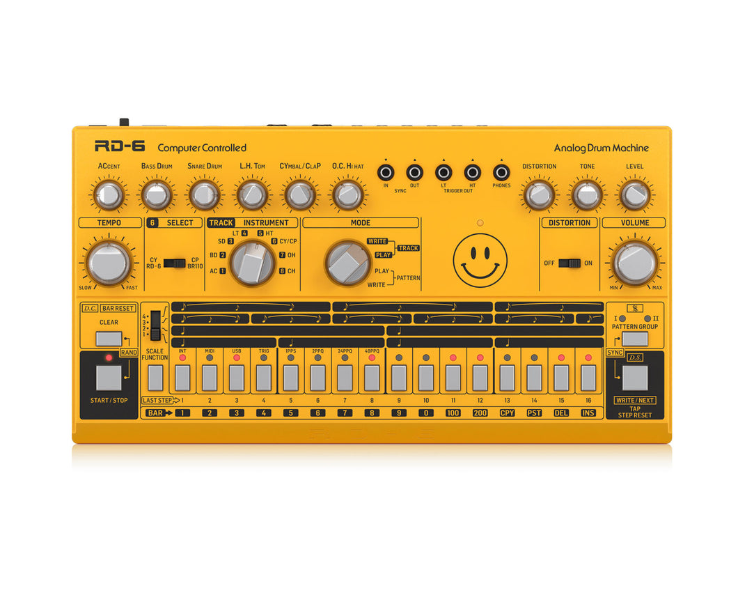 Behringer RD6 AM Analog Drum Machine